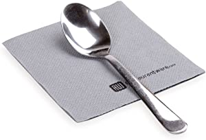 Luxenap 7.87 Inch Cocktail Napkins, 4800 Disposable Beverage Napkins - 2-Ply, Linen Feel, Gray Paper Bar Napkins, Soft And Absorbent, For Coffee Or Snacks - Restaurantware