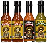 offspring hot sauce - Gringo Bandito GB Collection Hot Sauce Variety Pack, 5 Ounce (Pack of 4)
