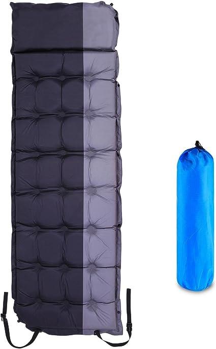 Sleeping Bag Air Mattress Pad Self Inflating Camping Backpacking Lightweight USA