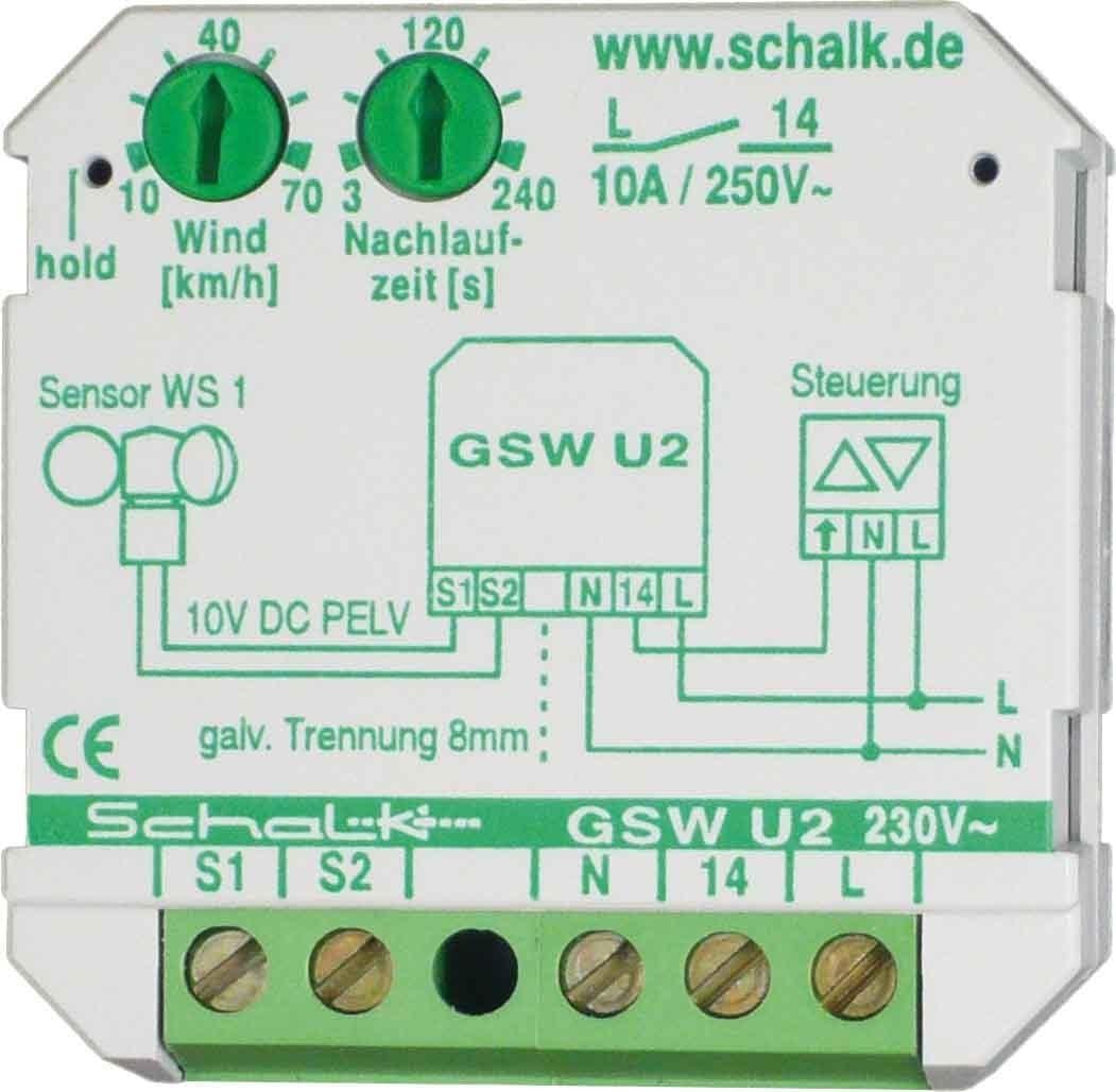 Schalk Grenzwertschalter Gsw U2 Elektronik