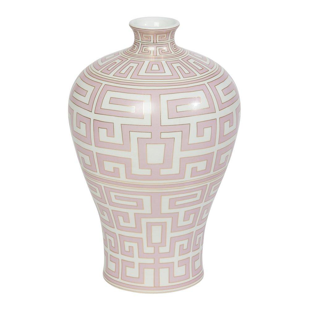 Ethan Allen Athena Porcelain Jar, Small, Pink