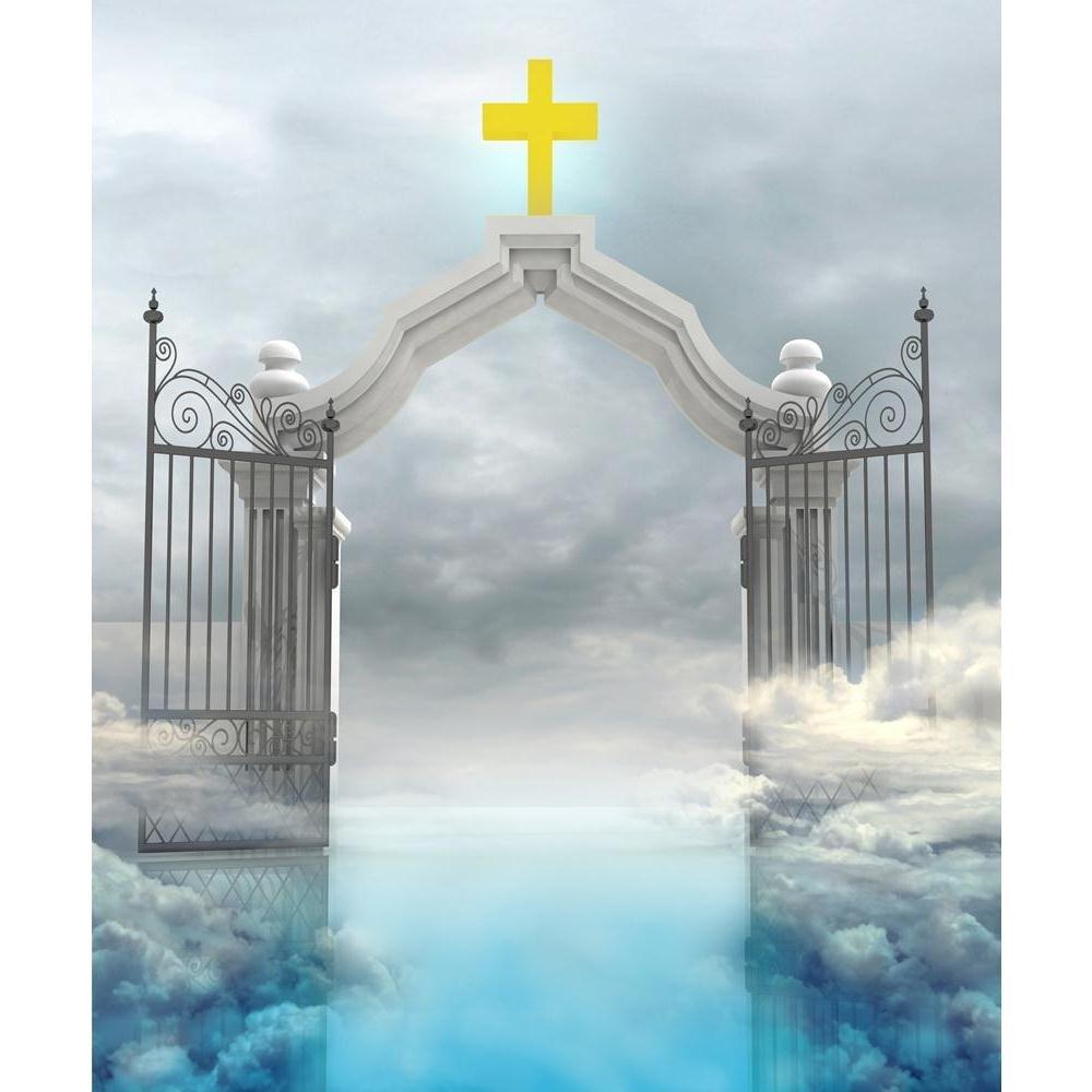 Pitaara Box Gods Paradise Canvas In Sky Unframed Canvas Paradise Painting 30 x 36inch aca166