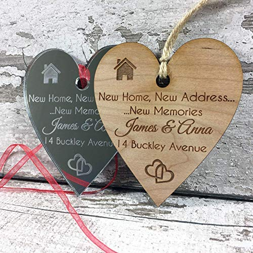New Home Owners Personalised Plaque Housewarming Gift Idea For Friends Couple Men Women Her Him Family Boyfriend Gift L1110