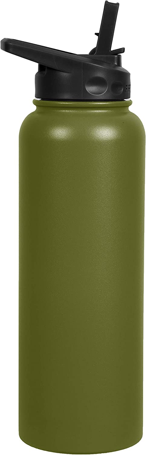 Fifty/Fifty 40oz, Double Wall Vacuum Insulated Sport Water Bottle