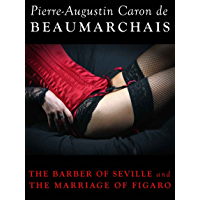 The Barber of Seville and The Marriage of Figaro book cover