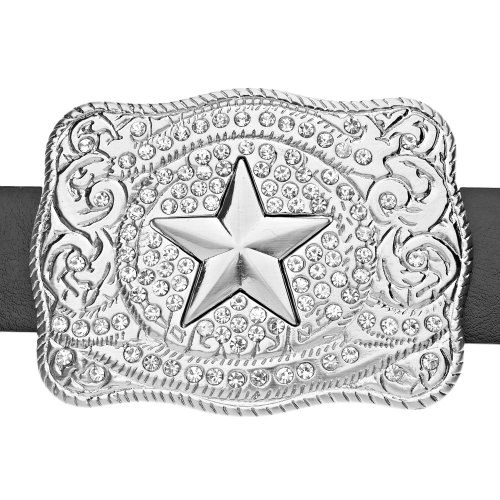 Bling Iced Star Ceinture Western Out OwqZ1g7S