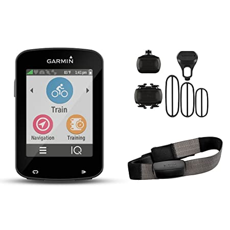 Garmin Edge 820 Fahrrad-Navigationsgerät, ANT+, Europa Fahrradkarte, Active Routing, Round-Trip-Routing, 2,3 Zoll (5,8 cm) To