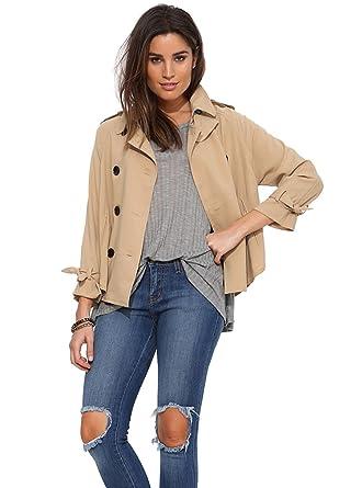 info for ca011 46742 Jasmine House Damen Klassische britische Stil Khaki Jacke ...