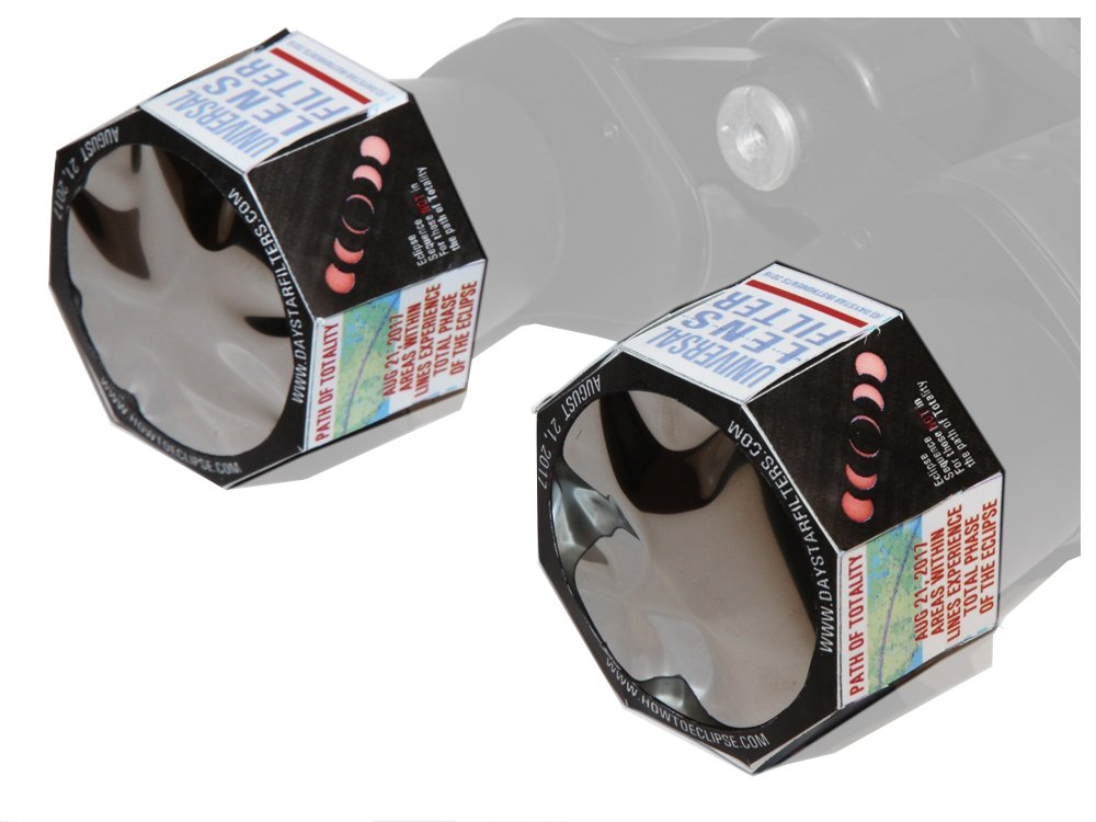 DayStar Filters ULF50 50mm 双眼鏡 ホワイトライト 汎用ソーラーレンズフィルター 50-69mm OD 2個パック B06ZYKRH1V