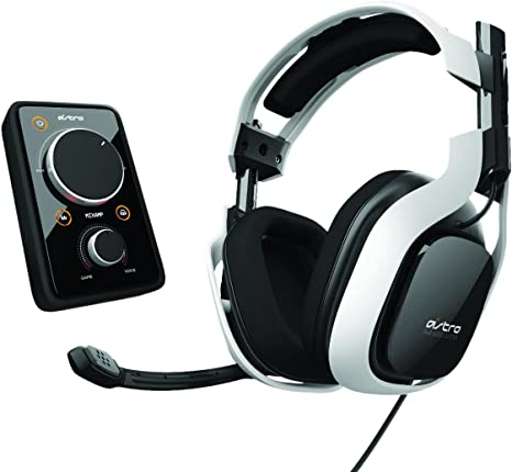Astro Gaming Bundle Amp Mixamp Dolby 7.1 and A40 Gaming Headset white