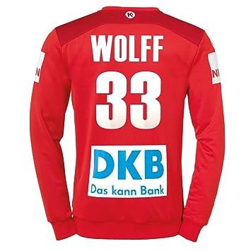 Kempa DHB Torwarttrikot grün Wolff 33 Nationalmannschaft