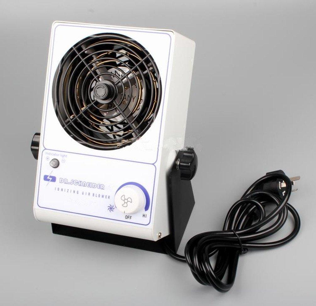 Ionizing Air Blower Fan ESD Static Eliminator Anti-Static Ionizer 110V or 220V