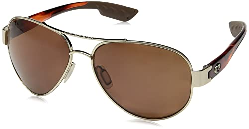 Amazon.com: Gafas de sol Costa Del Mar South Point , Dorado ...