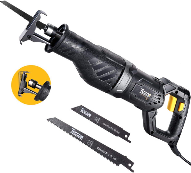 TECCPO 120V 9Amp Reciprocating Saw