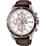 Casio Edifice Chronograph White Dial Men's Watch - EFR-546L-7AVUDF (EX235)