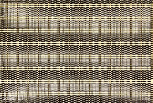 Servico Americano Textilene Tropical 45x30cm Preto Atp66025
