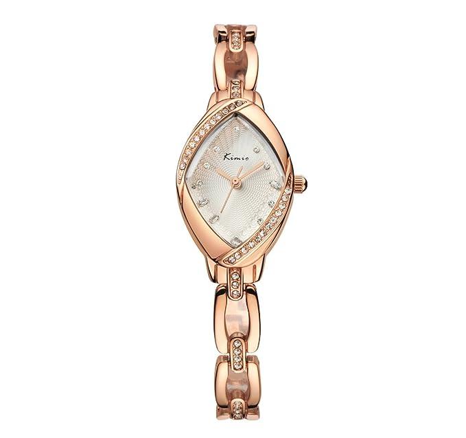 Relojes de moda de las mujeres Tendencias de moda Casual prenda impermeable Hebilla Pin Reloj de