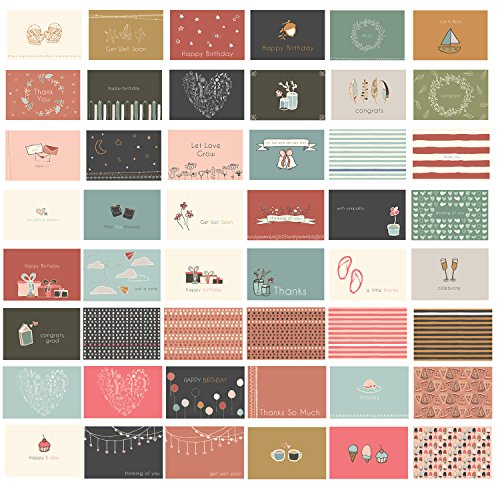 48 Blank All Occasion Cards  Greeting Cards with Envelopes for Any amp Every Occassion