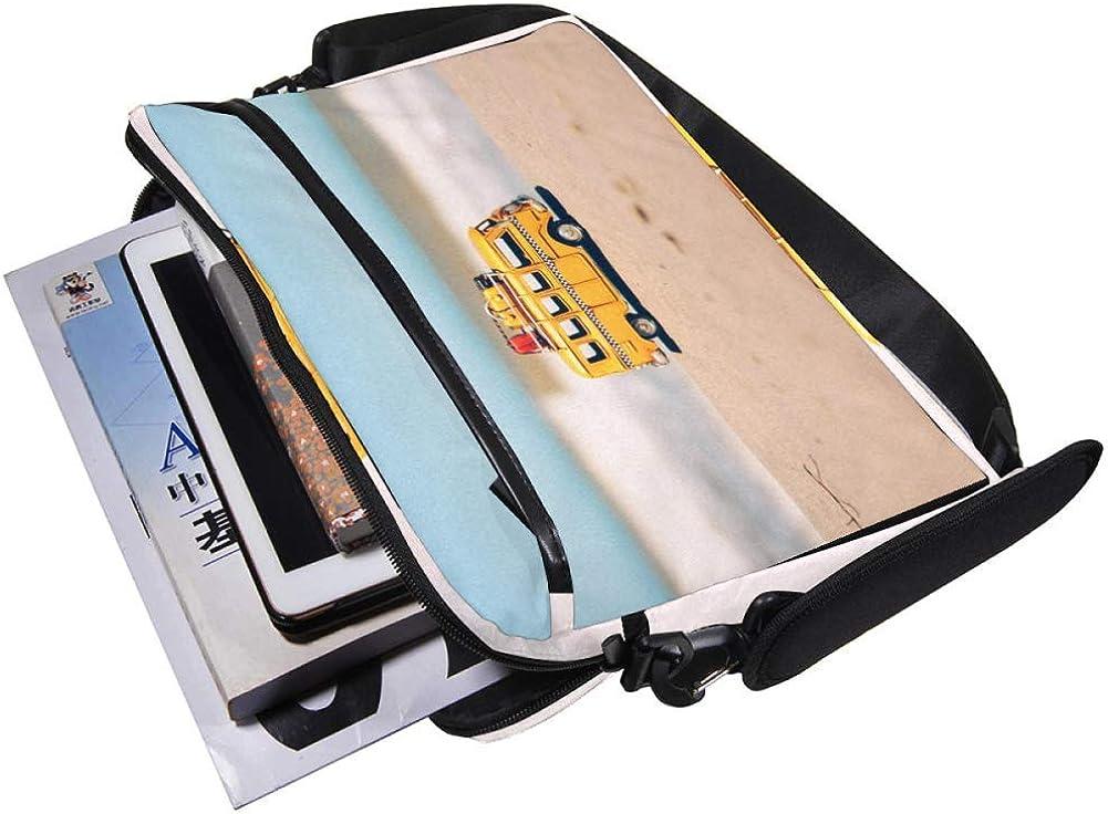 Lightweight 15 inch Laptop Bag Business Messenger Briefcases Beach Car Waterproof Computer Tablet Shoulder Bag Carrying Case Handbag for Men and Women