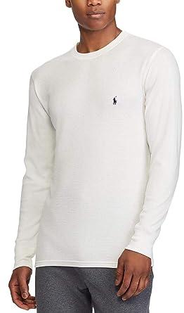 2f5f4bf816a85 Polo Ralph Lauren Men s Waffle Knit Crew Neck Shirt at Amazon Men s ...