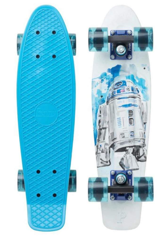 新しいスタイル Penny Skateboard ペニー Skateboard スケートボード STAR 22 WARS R2D2 22 R2-D2 COMPLETE 22インチ ミニクルーザー B07MVWG34X R2-D2 22インチ(約57cm), カワベマチ:4837ed6e --- svecha37.ru