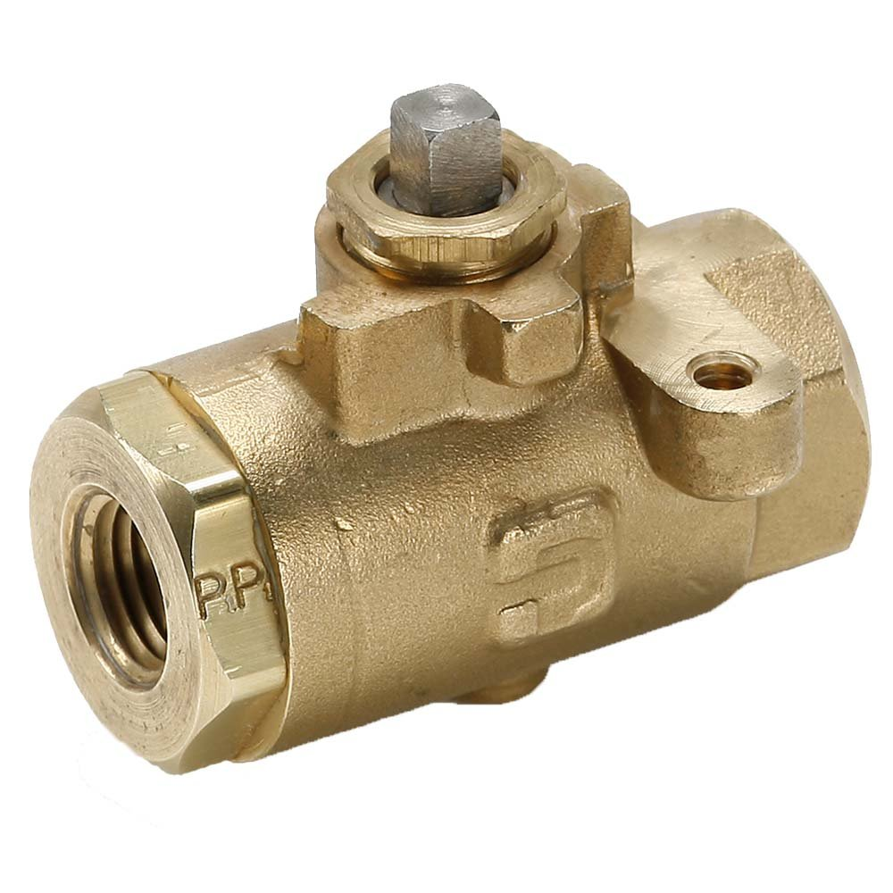 1//4 Female to Female Brass Female Pipe Panel Mount Sub Assembly Parker V502P-4-SUB-pk5 Industrial Brass Ball Valve Pack of 5 1//4 Pack of 5