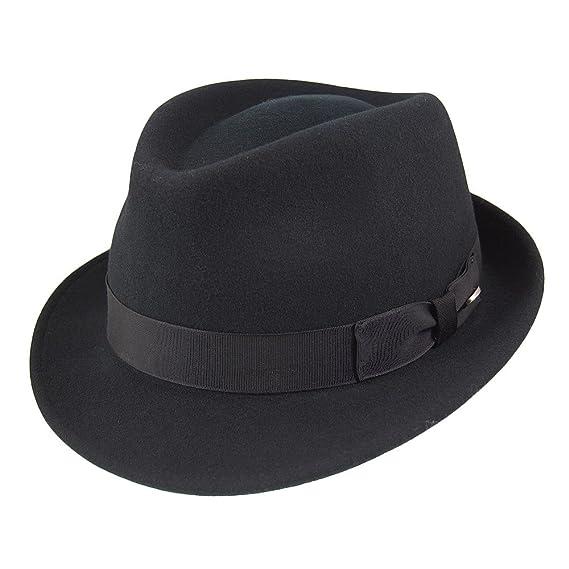 45439095f Bailey Hats Wynn Crushable Trilby Hat - Black