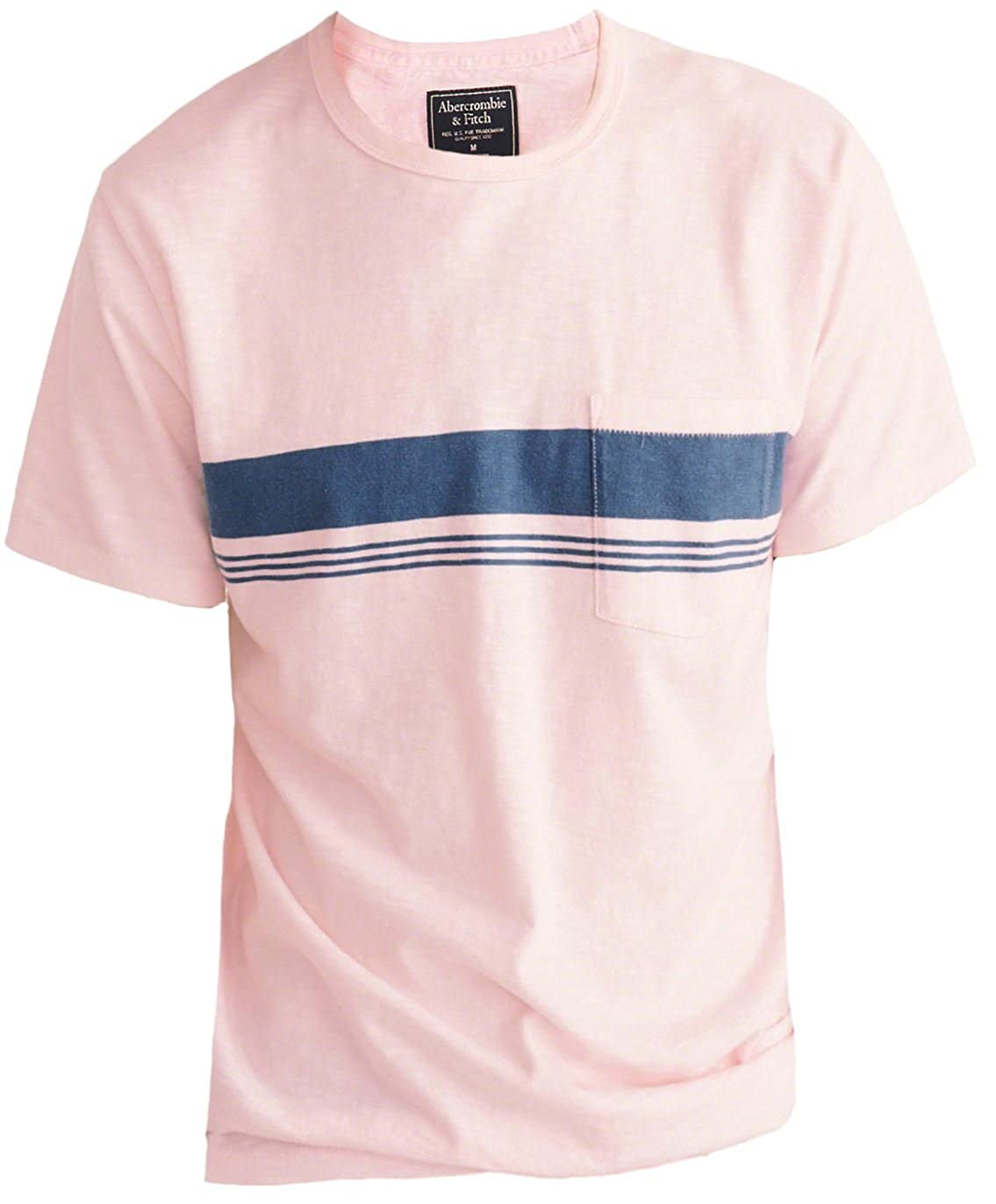 Abercrombie & Fitch - Camiseta - Camiseta - Rayas - Manga corta ...