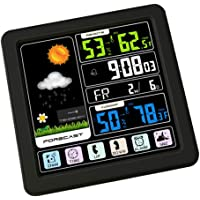 Blesiya Wireless Hygrometer Indoor Outdoor Thermometer Humidity Monitor, Weather Station, w/LED Backlight Digital…
