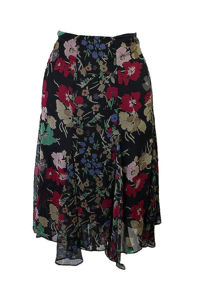 6c04c2638 LAUREN RALPH LAUREN Women's Plus Size Multi Floral Georgette Skirt at  Amazon Women's Clothing store: