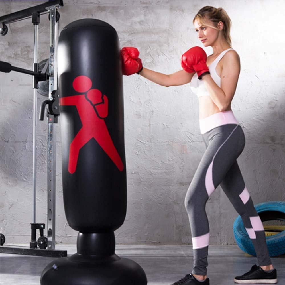 Fitness Ecent Saco de Boxeo de pie Inflable Saco de Boxeo Independiente Ejercicio f/ísico Alivio del estr/és para ni/ños Adultos - 160 cm Karate etc