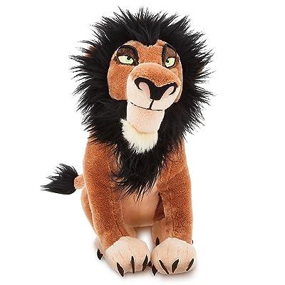 Disney Scar Plush - The Lion King - 14 Inch: Toys & Games