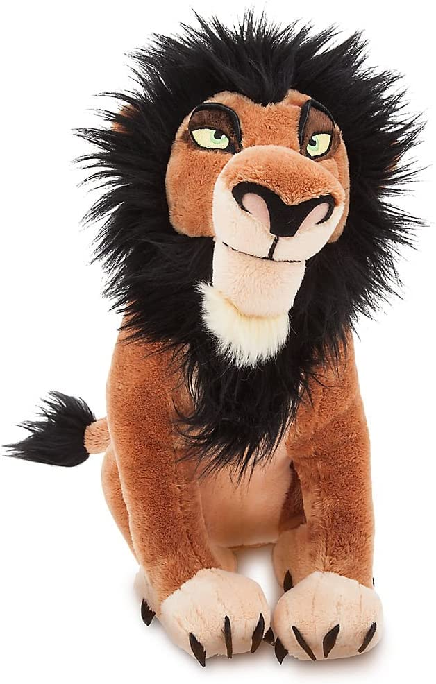Amazon Com Disney Scar Plush The Lion King 14 Inch Toys Games