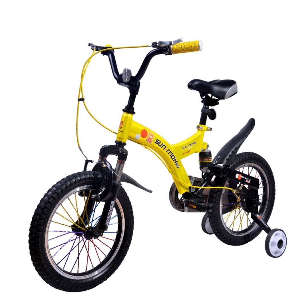 子供の自転車212歳の男の子と女の子14/16/18インチマイナスショックベビーバイク (サイズ さいず : 14 inches) B07D77KZQH 14 inches 14 inches