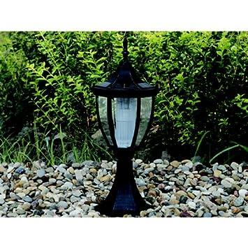 Galix - Lampe solaire façon fer forgé 4 LED: Amazon.fr: Jardin