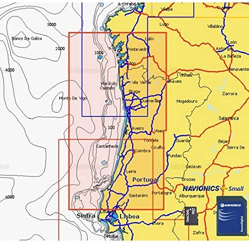 Navionics Plus Small MicroSD/SD Norte de Portugal: Amazon.es: Deportes y aire libre