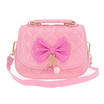 c7cec3e65a39 Image Unavailable. Image not available for. Color  JUNOAI Little Girls  Crossbody Purses for Kids - Toddler Mini Cute Princess Handbags Shoulder Bag  (