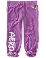 Aeropostale Women's Cropped Capri Sweats Lounge Pants