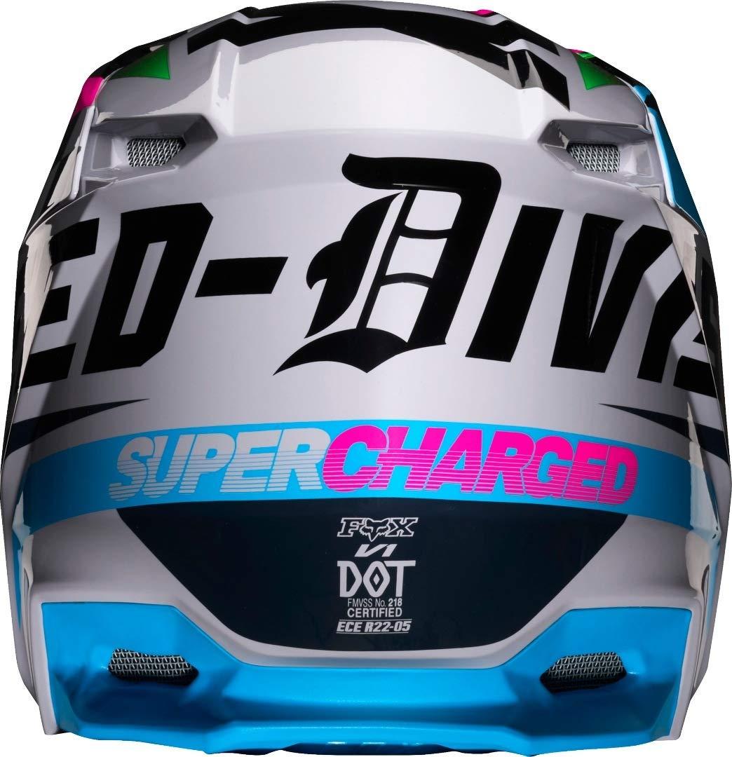 Helmet Fox V-1 Czar Light Grey Xl