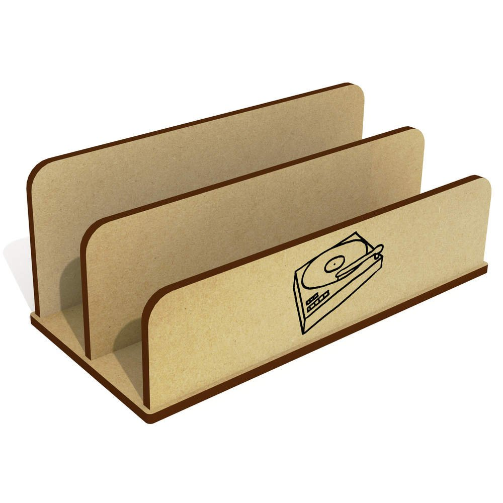 Tocadiscos De Madera Carta Poseedor / Organizador (LH00022016 ...