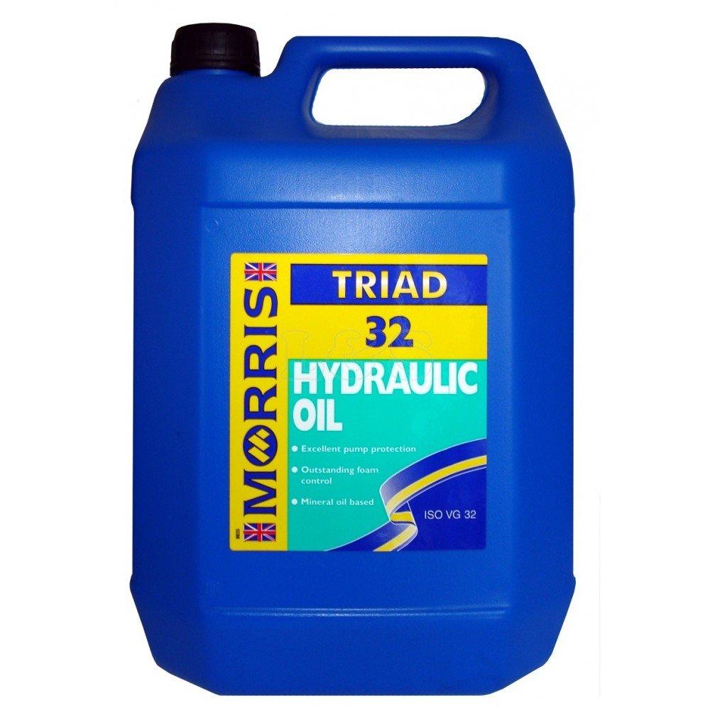Triad 32 Premium Mineral Based Hydraulic Oil - 5Ltr Morris Lubricants