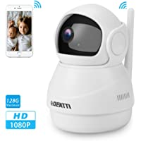 360 Wireless Security Camera 1080P for Home Surveillance with Two Way Audio, Pan Tilt and…