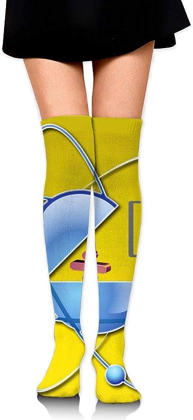 High Elasticity Girl Cotton Knee High Socks Uniform Math Chart Women Tube Socks