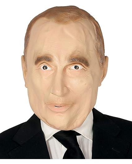 Horror-Shop Máscara Vladimir Putin: Amazon.es: Juguetes y juegos