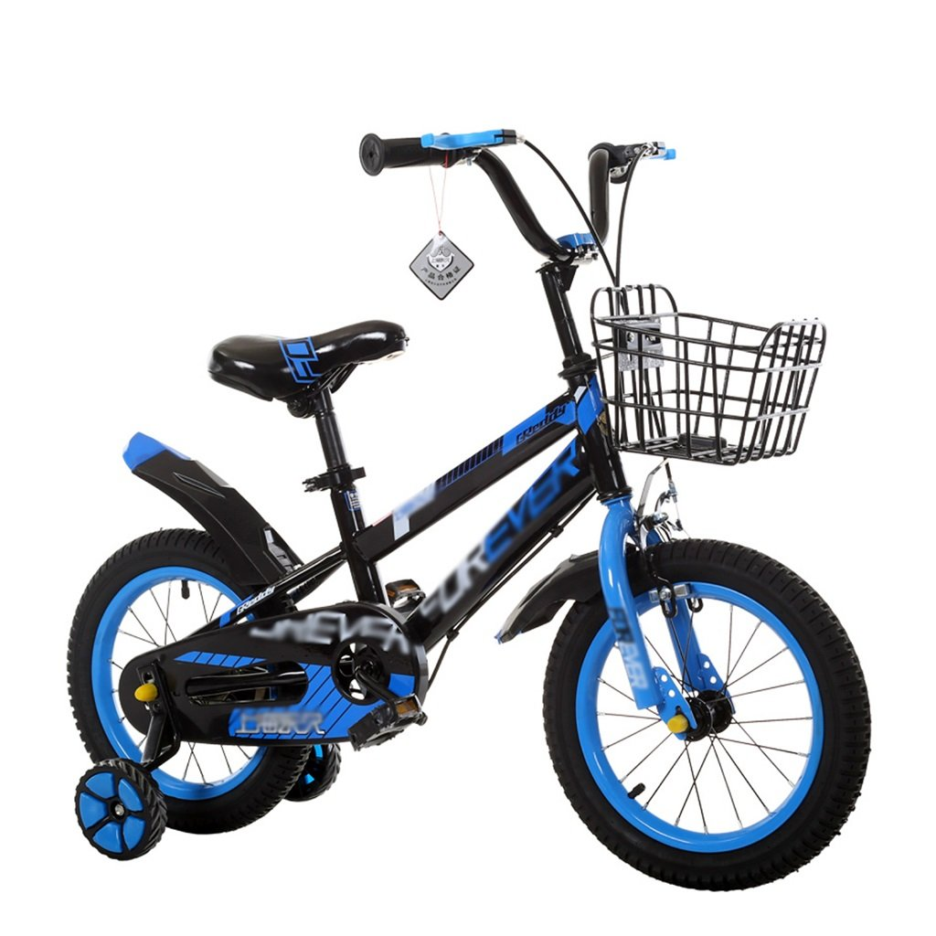 bluee 12 inch Kids' Bikes Boy's and Girl's Bicycle with Training Wheels Perfect Gift for Kids 12141618 Inch Green bluee Red