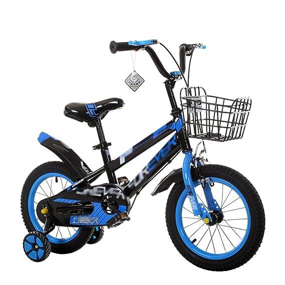 Bicicletas para niños Niñas con Ruedas De Entrenamiento Regalo Perfecto para Niños 12-14-16-18 Pulgadas Verde Azul Rojo: Amazon.es: Deportes y aire libre