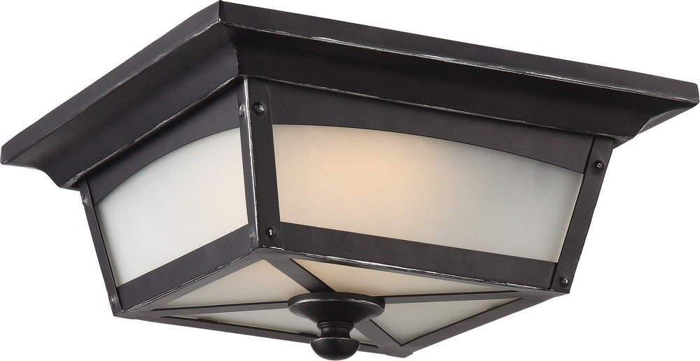 Nuvo Lighting One Light Outdoor Flush Mount Nuvo 62/823 LED
