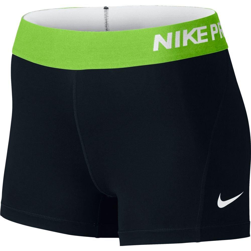 Nike Women's Pro Cool 3-Inch Training Shorts (Black 01/Large) by Nike