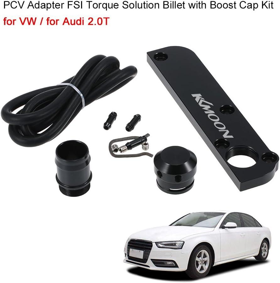 KKmoon PCV Adattatore FSI Soluzione della Coppia di Serraggio con il Kit di Protezione della Booster per VW per Audi 2,0T