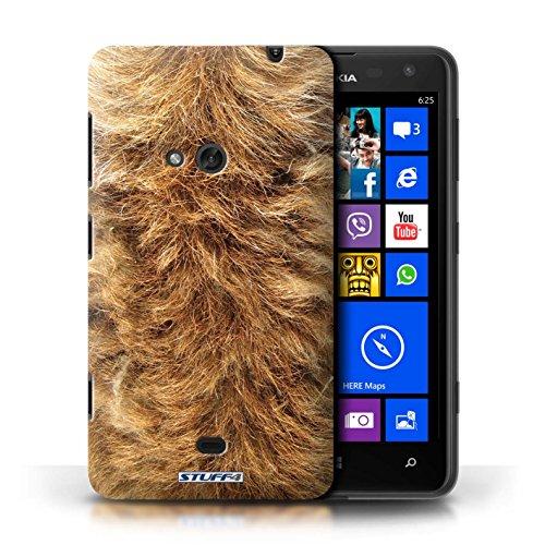 Coque en plastique pour Nokia Lumia 625 Collection Motif Fourrure Animale - Chien